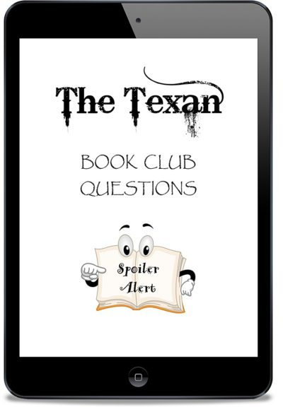 picture about Printable Book Club Questions known as The Texan E book Club Issues Printable PDF -